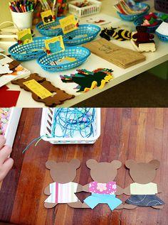 goldilocks & the three bears craft