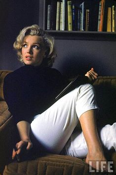 I may be alone here, but I prefer the beatnik Marilyn.