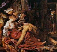 Samson et Dalila, Peter Paul Rubens, 1609