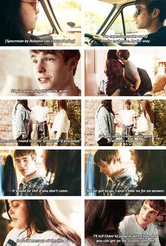 Finn + his crush on Rae