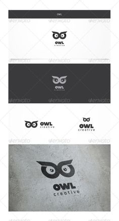 Owl Logo Owl Is A Premium Logo Template This Is An Abstract Logo Thats