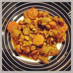 feijoada de soja * soy and bean stew