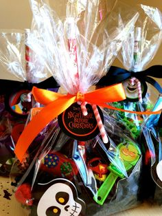 Nightmare Before Christmas favors by rizOHcollection on Etsy, $6.50