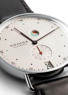 Nomos Glashuette METRO WATCH More: http://freshersmag.com/nomos-metro-watch/