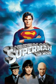 Superman - The Movie (Four-Disc Special Edition): Christopher Reeve, Margot Kidder, Marlon Brando, Gene Hackman, Richard Donner Superman Movies, Dc Movies, Superhero Movies, Action Movies, Great Movies, Movies To Watch, Movies Online, Movies And Tv Shows, Superman Superman