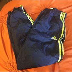 """Adidas Pants - """"Swishy""""/windbreaker pants"""