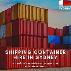If you need a – for or then there's only one place to come. Shipping Containers can provide all your shipping container needs at the best price, with quality and service Shipping Container Rental, Shipping Containers For Sale, Sydney