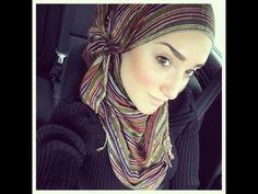 Hijab Tutorial #27 - YouTube
