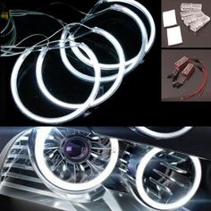 4x led #angel eye halo ccfl ring #light  lamp head#light for bmw e36 e38 e39 e46,  View more on the LINK: 	http://www.zeppy.io/product/gb/2/301971756283/
