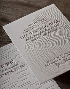 Synthesis affordable wedding invitations Letterpress Wedding Invitations