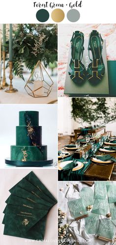 forest green and gold vintage wedding color ideas me for Cool Colorful Wedding Aesthetic!forest green and gold vintage wedding color ideas Forest Wedding, Fall Wedding, Rustic Wedding, Wedding Ceremony, Dream Wedding, Forest Green Weddings, Boho Wedding, Wedding Shot, Wedding Bands