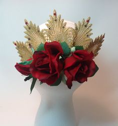 Spanish themed headpiece. Don Quixote. Paquita. by DesignsEnPointe