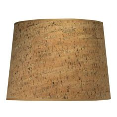 CORK Jamie Young Open Cone Medium Shade for table, floor, or pendant light.