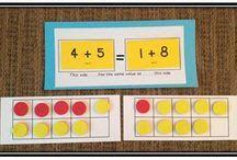 A Peek Inside: Whats Cookin'? The Meaning of the Equal Sign – Math Coach's Corner – Modern Design - Modern Math Stations, Math Centers, Math Resources, Math Activities, Math Coach, Second Grade Math, Grade 1, Math School, Math Intervention