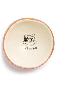 Let it be - Trinket Dish Pinned by www.myowlbarn.com