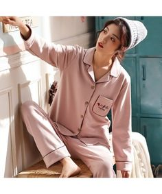 Pure cotton pajamas fresh and lovely cotton pyjamas set Cotton Sleepwear, Cotton Pyjamas, Cotton Nighties, Sleepwear Sets, Mens Silk Pajamas, Pajamas Women, Adult Onesie Pajamas, Cute Pajama Sets, Cozy Pajamas