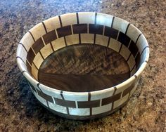Segmented Bowl made of 110 individual pieces of by CambiaCraft, $146.00
