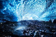 Hiking the Big Four Ice Caves, Washington