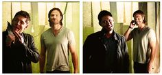 I love how Jared is playing with his hair :P (click through for full gif)