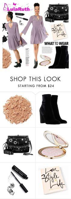 """""""LulaRuth Boutique"""" by gaby-mil ❤ liked on Polyvore featuring Illamasqua, Steve Madden, Alexander McQueen, Anja, Guerlain, Bobbi Brown Cosmetics, dress and lularuthboutique"""