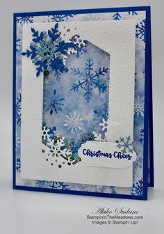 Holiday Cards, Christmas Cards, Christmas Snowflakes, Christmas Decor, Merry Christmas, Snowflake Cards, Stampin Up Christmas, Stamping Up Cards, Shaker Cards