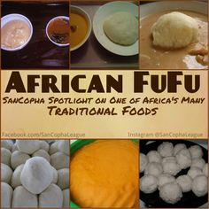 FuFu… African FuFu is a food that originated in Ghana and the word comes from the Akan Language and is a staple in African Culture. Countries such as Ghana, Nigeria, And Cameroon to name a few use. West African Peanut Soup, West African Food, Ghanaian Food, Nigerian Food, Nigerian Fufu Recipe, A Food, Good Food, Food And Drink, Yummy Food