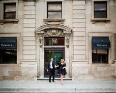 Classy Downtown Engagement with Handmade Black Tulle Skirt Vancouver Wedding Photographer, Old Building, Engagement Photos, Tulle, Classy, Hair Styles, Skirts, Handmade, Black