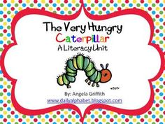 The Very Hungry Caterpillar by Eric Carle is a great way to introduce how a caterpillar becomes a beautiful butterfly. It is a nice addition to an ...