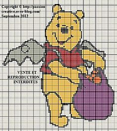 Winnie halloween  click on photo for chart