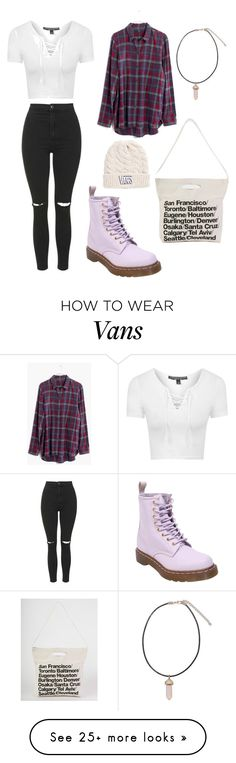 """Fall"" by lisaj08904 on Polyvore featuring Topshop, American Apparel, Madewell, Dr. Martens and Vans"
