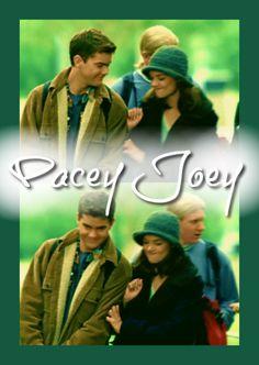 """deusadailusao: """" Pacey and Joey. """""""