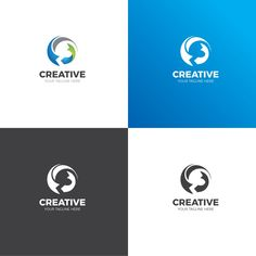 The creative logo design template is in EPS file format, created with Adobe Illustrator. The logo template is ideal for corporate companies and personal use. Letterhead Template, Logo Design Template, Brochure Template, Logo Templates, Corporate Logo Design, Modern Logo Design, Graphic Design Typography, Creative Logo, Waves Logo