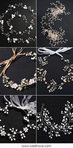 Crystal Bead Pearl Hair Vine For Brides # Wedding # Wedding Accessories Wedding . Crystal pearl beads hair vine for brides Wedding accessories Wedding accessories Wedding Hair Flowers, Hair Comb Wedding, Diy Hair Vine, Diy Bridal Hair, Rhinestone Wedding, Crystal Wedding, Bride Hair Accessories, Hair Beads, Bride Hairstyles