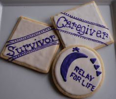 The Preppy Chef: Relay For Life Cookies