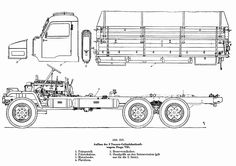 Section Drawing, Line Drawing, Tactical Truck, Military Equipment, Car Detailing, Hot Wheels, Cars And Motorcycles, Techno, Trucks