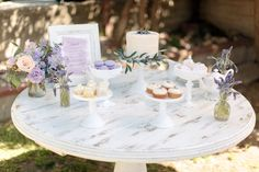 Photography : Steve Steinhardt Read More on SMP: http://www.stylemepretty.com/living/2015/04/17/lavender-inspired-french-countryside-luncheon/