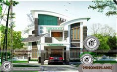 Modern Home Plan Designs Double Storey Display Homes Online Plan Duplex, Duplex House Plans, Modern House Plans, Beautiful Home Designs, Beautiful Homes, House Plans Online, Double Storey House, Duplex House Design, Style Simple