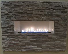 Empire Boulevard Vent Free Linear Fireplaces