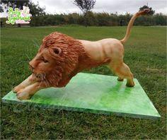 Lion cake - Cake by Bety'Sugarland - CakesDecor