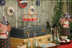 Vintage 4th of July Party Ideas