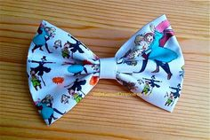 Howl's Moving Castle Inspired Hair bow by LittleCornerCreation