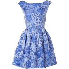 Glamorous Floral lace shift dress