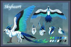 Skyheart Reference Sheet by Araless.deviantart.com on @DeviantArt