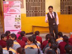 Motivational Session at Navbharti School by India Favourite Motivational Trainer, Corporate Trainer, Speaker- Shikhar Prajapati
