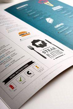 세계적인 월드 베스트 레스토랑 메뉴판 그래픽디자인 : 네이버 블로그