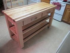 Butcher Block Island (photos of process)