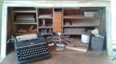 Old Desk and Supplies To Inspire Writing