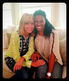 Beth Moore's Blog.....Why who is that with her?  It's Priscilla Shirer  ....I love her Bible Study on Jonah. Priscilla Shirer another wonderful Bible Study Teacher.