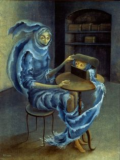 Remedios Varo - The Encounter. 1959
