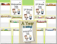 Wild about Teaching!: A Year in Writing! {FREEBIE}